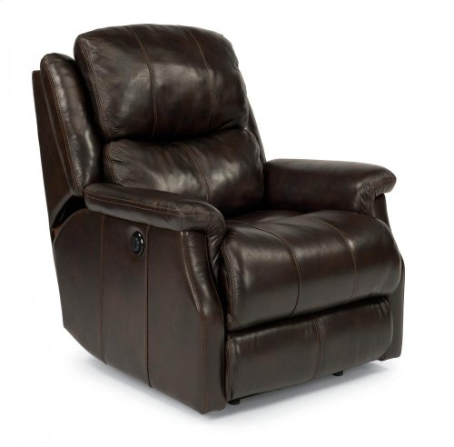 Mateo Leather or Fabric Power Recliner