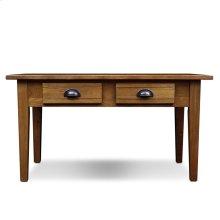 Bin Pull Two Drawer Coffee Table #9014
