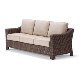 Lake Shore Wicker 3-Seat Sofa