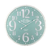 Seafoam Delight Wall Clock