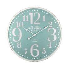 Seafoam Delight Wall Clock