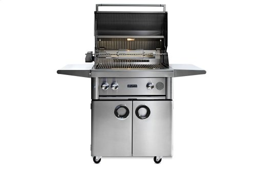 "30"" Lynx Professional Freestanding Smart Grill with Rotisserie, LP"