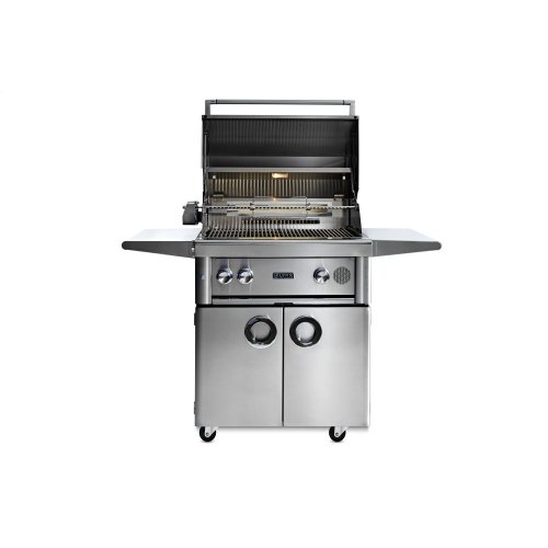 """30"""" Lynx Professional Freestanding Smart Grill with Rotisserie, NG"""