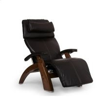 "Perfect Chair PC-LiVE "" - Espresso Premium Leather - Walnut"