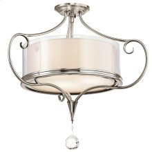 Lara Collection Lara 2 Bulb Semi-Flush Ceiling Light - CLP
