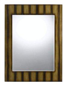 Clovis rectangular polyurethane beveled mirror