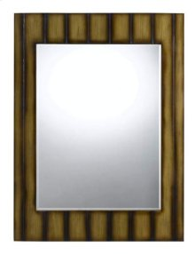 Clovis rectangular polyurethane beveled mirror