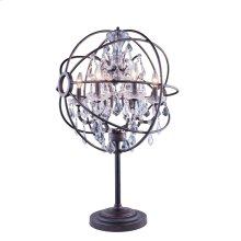 1130 Geneva Collection Table Lamp Dark Bronze Finish