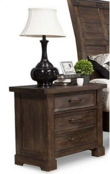 Iron Works Night Stand