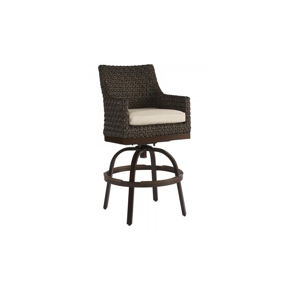 Epicenters Brentwood Outdoor Franklin Wicker Bar Stool