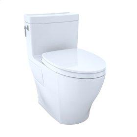 Aimes® One-Piece Toilet, 1.28GPF, Elongated Bowl - Washlet®+ Connection - Cotton