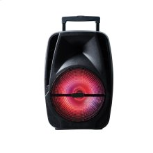 """PABT6004 15"""" Portable Bluetooth PA System with Rechargable Battery"""