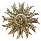 "SUN MEDALLION PULL (G2636) - 34 3/4"" Silicon Bronze Brushed Product Image"