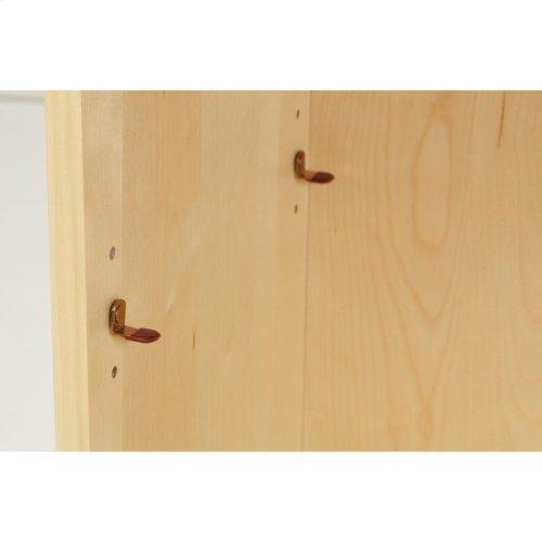 6 Shelf Bookcase w/ Crown & Base : : White :