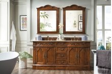 """Amalfi Classico 72"""" Double Bathroom Vanity"""