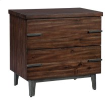 Monterey Point Two Drawer Night Stand