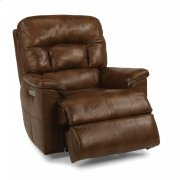 Great Escape Leather Power Gliding Recliner with Power Headrest Product Image