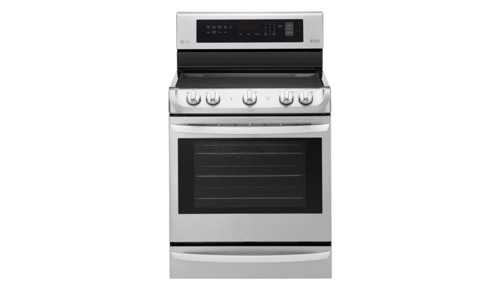 6.3 cu. ft Electric Single Oven Range with ProBake Convection(R) and EasyClean(R)