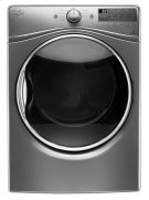 7.4 cu.ft Front Load Electric Dryer with Advanced Moisture Sensing, Steam Refresh Product Image