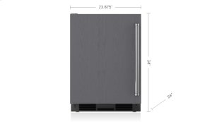 "24"" Undercounter Refrigerator/Freezer with Ice Maker - Panel Ready"