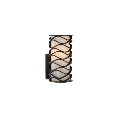 Visual Comfort S2089AI-WG Studio Bracelet 1 Light 4 inch Aged Iron Decorative Wall Light