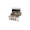 "Wolf 30"" Outdoor Gas Grill"