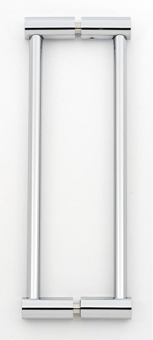 Contemporary I Back-to-Back Pull G715-8 - Polished Chrome