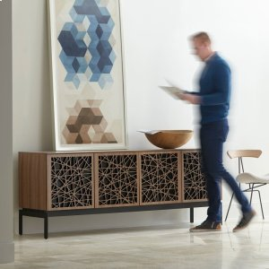 Bdi FurnitureQuad Cabinet With Console Base in Environmental