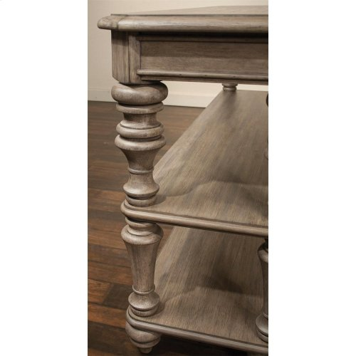 Corinne - Console Table - Sun-drenched Acacia Finish