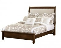 "Upholstered Bed (queen) 66""W x 57.5""H; Product Image"