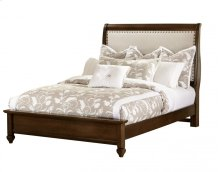 "Upholstered Bed (queen) 66""W x 57.5""H;"
