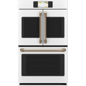 """Cafe AppliancesProfessional Series 30"""" Smart Built-In Convection French-Door Double Wall Oven"""