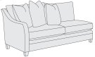 Sorenson Left Arm Loveseat in Mocha (751) Product Image