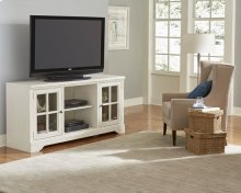 66 Inch Console - Bone Finish