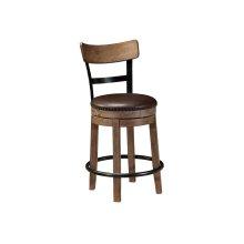 Upholstered Swivel Bar Stool