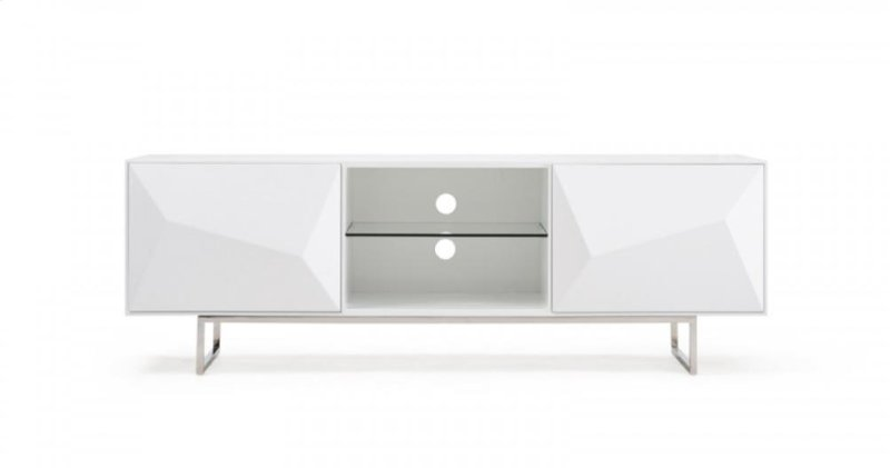 Vgvctv1108 In By Vig Furniture In Modrest Vanguard Modern White Tv