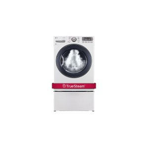 7.4 cu. ft. Ultra Large Capacity SteamDryer w/ NFC Tag On - WHITE