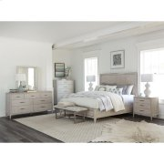 Lilly - Upholstered Bed Bench - Champagne Finish Product Image
