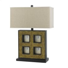 150W 3Way Table Lamp W/Pictures