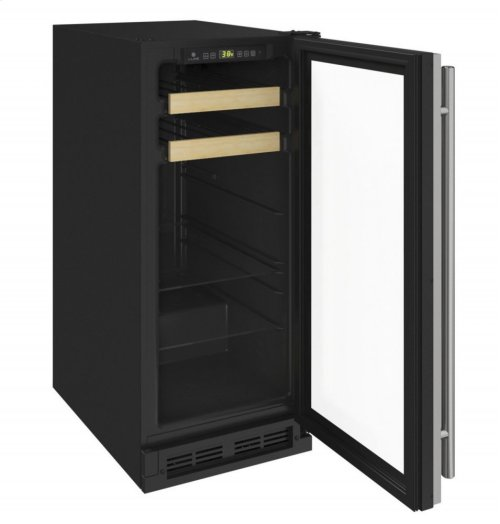 "1000 Series 15"" Beverage Center With Stainless Frame Finish and Field Reversible Door Swing (115 Volts / 60 Hz)"