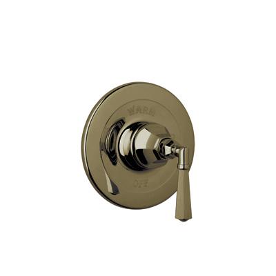 Tuscan Brass Palladian Pressure Balance Trim Without Diverter with Palladian Metal Lever