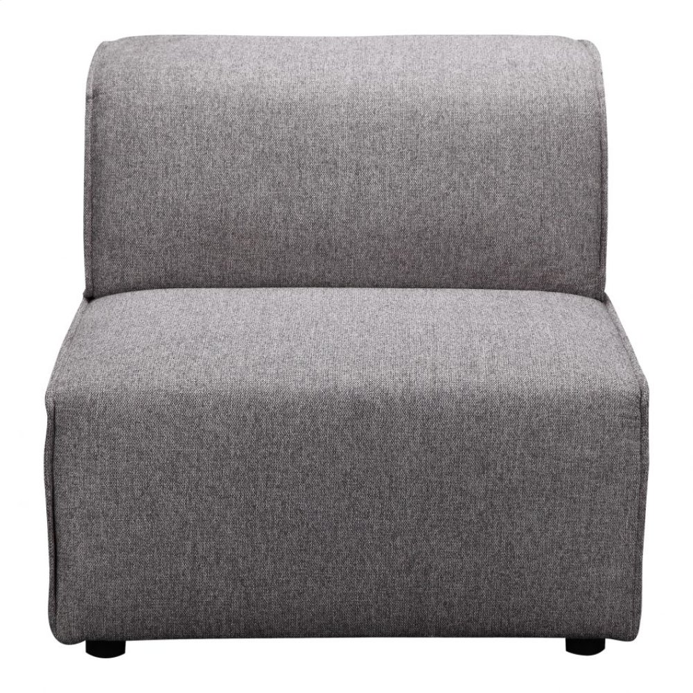 Rodeo Slipper Chair Dark Grey