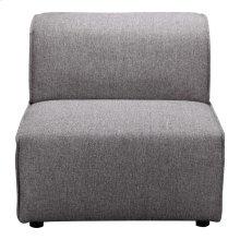 Rodeo Slipper Chair Dark Grey