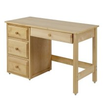 Student Desk with Pencil Drawer : Natural