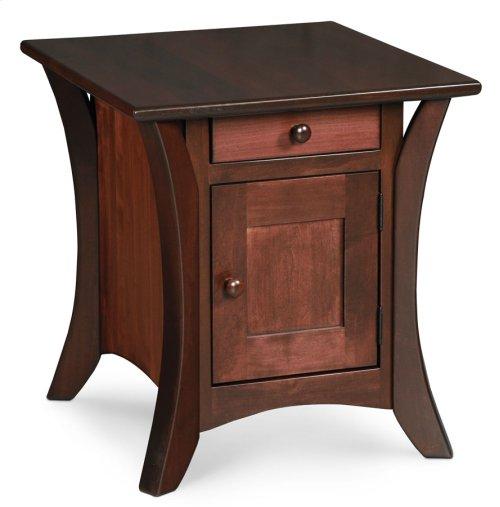 Park Avenue Cabinet End Table