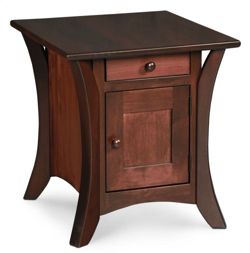 Park Avenue Cabinet End Table