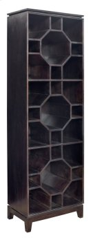 Bengal Manor Mango Wood Octogon 3 Tier Bookshelf Product Image