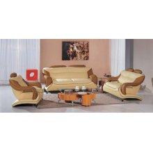 Divani Casa 7055 Modern Bonded Leather Sofa Set