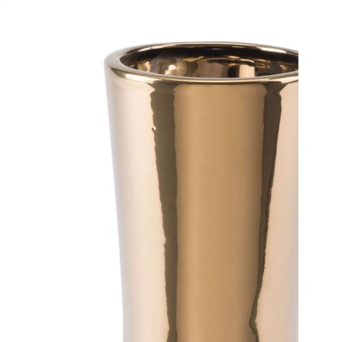 Vual Sm Vase Gold