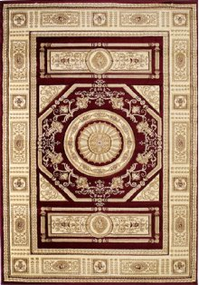 Contours Camryn Burgundy Rugs